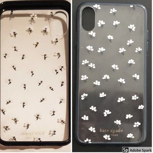 Kate Spade Jeweled Daisy Clear Iphone X and XS